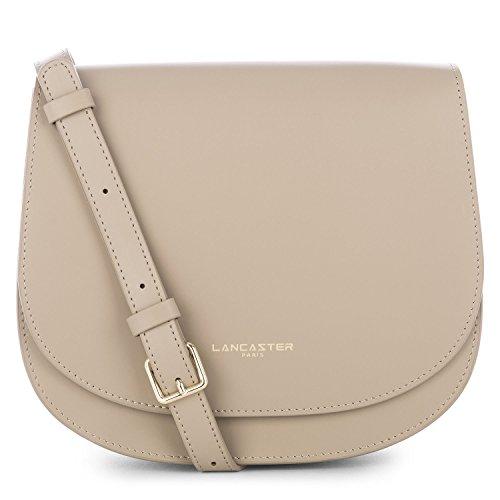 lancaster-paris-mujer-52836stone-gris-cuero-bolso-de-hombro