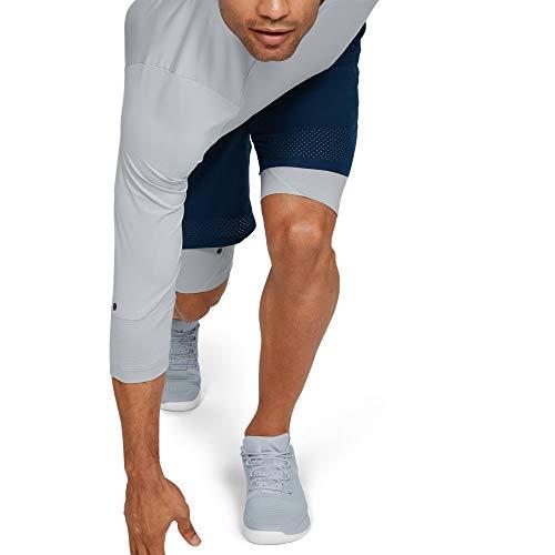 Under Armour UA Rush 3/4-Arm-Oberteil, komfortables T-Shirt für Männer mit Rush-Technologie, atmungsaktives Sportshirt mit enger Passform -