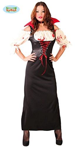 (Blutige Vampir Königin Fürstin Lady Halloween Horror Party Kostüm Damen Gr. M-L, Größe:L)