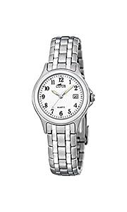 Lotus Reloj Analógico para Mujer de Cuarzo con Correa en Acero Inoxidable 15151/A