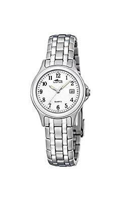Lotus 15151/A - Reloj de pulsera Mujer, Acero inoxidable, color Plateado