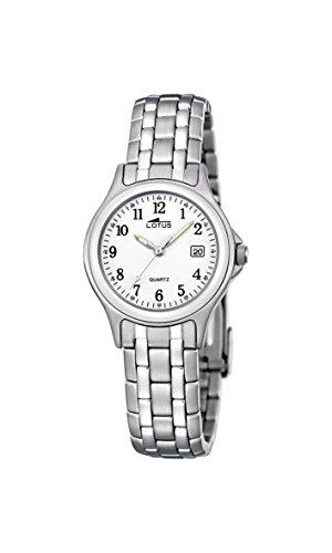 Lotus 15151/A – Reloj de pulsera Mujer, Acero inoxidable, color Plateado