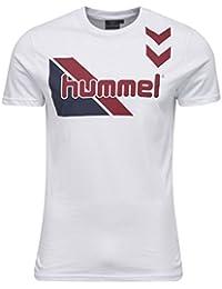 Hummel T-shirt pour homme–Table Tees KOSTA SS Tee–T-shirt d'entraînement coton manches courtes–Fitness Loisirs & Sport–shirts T-shirt imprimé div. couleurs col rond