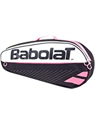 Babolat Club Lot de 3 Essential Sac de tennis Noir et rose