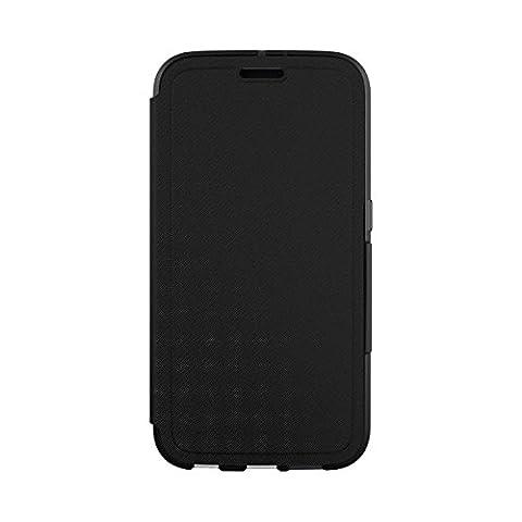 """Tech21 """"Evo Wallet"""" Coque de Protection pour Samsung Galaxy S6 avec Rangement pour Carte de Crédit - Noir"""