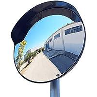 30cm GOTOTOP Specchio panoramico Stradale Specchio Convesso di Sicurezza Specchi Parabolici Infrangibili,per la Sicurezza in Strada e per i Negozi,Diametro 30 cm//45 cm