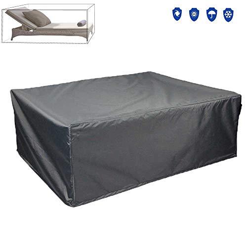 Premium Lounge Sessel Schutzhülle 3301 für Gartenmöbel aus mehrschichtige Ripstop-Polyester...