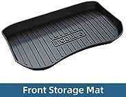 Auto Trunk Matten Voor Tesla Model 3 2018-2019 Cargo Liner Achterlade Trunk Vloer Beschermende Mat Front Storage Mat