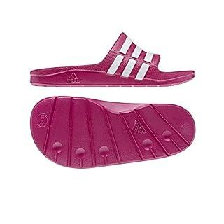 adidas Performance Kids' Duramo Slide Sandal (Toddler/Little Kid/Big Kid),Pink Buzz/Running White/Pink Buzz,