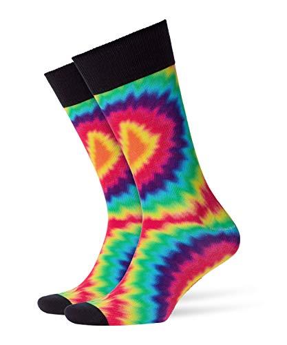 (Burlington Herren Socken Hippie Guy 21815, 0. Ohne Angabe, Gr. 40/46 (Herstellergröße: 40-46), Mehrfarbig (Lipstick 8000))