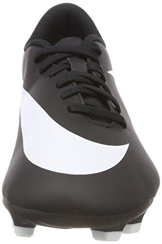 Nike Herren Bravata Ii FG Fußballschuhe Schwarz (Black/White/Black)