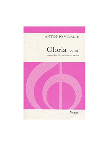 Antonio Vivaldi: Gloria RV.589 (SSA). Sheet Music for SSA, Piano Accompaniment