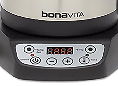 Bonavita Variable Temperature Digital Electric Kettle, 1 litre, 1000 watts