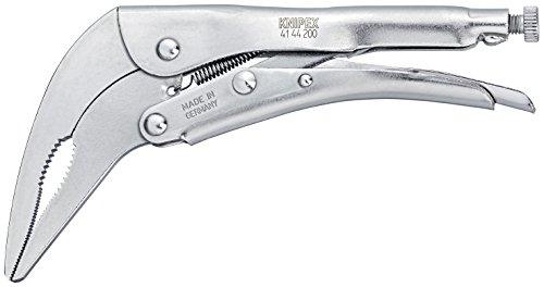 Knipex 41 44 200 Pince-étau zinguée Brillante 200 mm, Argent