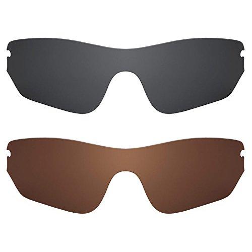 Revant Ersatzlinsen für Oakley RadarLock Edge Polarisiert 2 Paar Kombipack K003