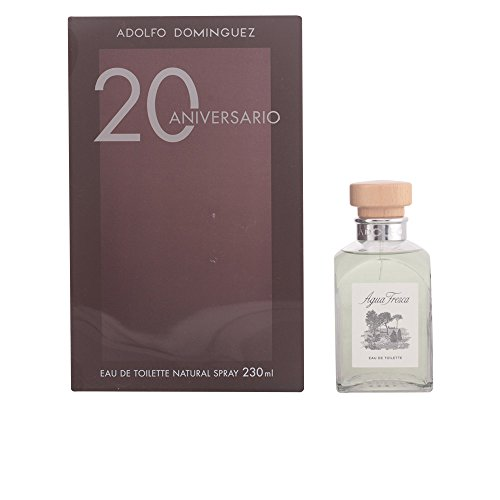 Adolfo Dominguez Agua Fresca Eau De Toilette Spray 230ml 20th Anniversary