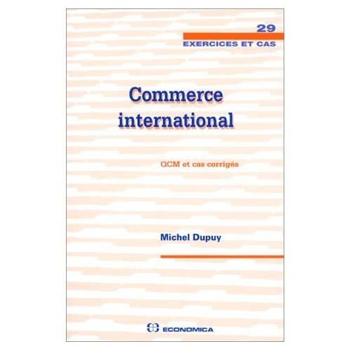 Commerce international by Michel Dupuy (1999-09-05)