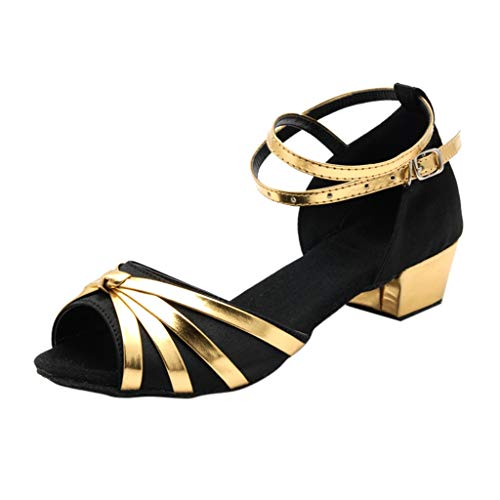 538d6186057 ABsolute Sandalias Zapatos de Baile Latino niña Salsa Baile de salón de  Baile de Mujer Sandalias