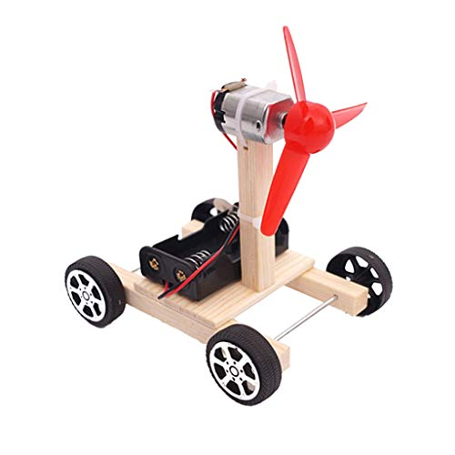 VANKOA DIY Wissenschaft Experiment Modellbau Lernspielzeug Pädagogische Spielzeug - Windturbine