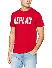 Replay Men's Kurzarm Shirt T-Shirt