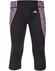 Trespass Perform Active TP75 Leggins, Niñas, Negro (Blk), 11/12