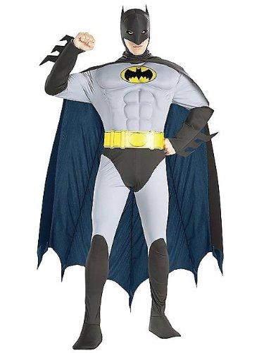 (Original Batman Muskelanzug Kostüm)