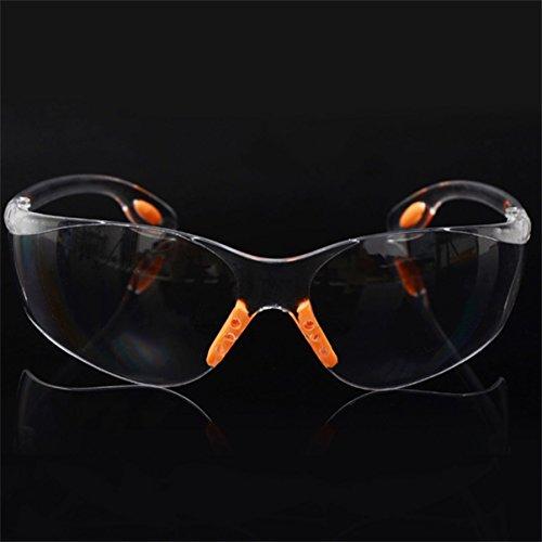 Preisvergleich Produktbild Jullyelegant Bequeme Weiche Silikon-Nasen-Klipp-Außensicherheits-Augen-Schutzbrillen