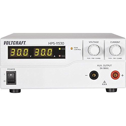 VOLTCRAFT HPS-11530 Labornetzgerät, einstellbar 1-15 V/DC 0-30 A 450 W Remote Anzahl Ausgänge 1 x