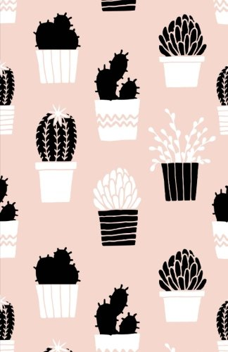 Bullet Journal: Cactus Pink Notebook Dotted Grid, (5.5 x 8.5) - Dunkel Pink Net