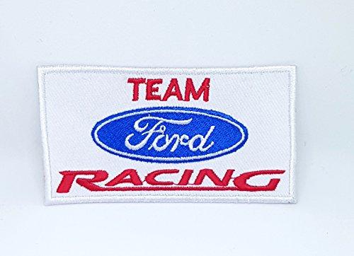 e9d0ed47ae7c4a Parche bordado para coser o planchar, diseño de Ford Racing Formula 1