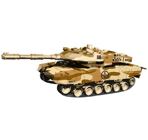 i.onik - Tanque Panzer teledirigido para smartphones, color marrón