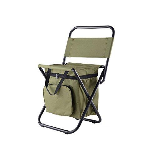 Nadalan sedie pieghevoli per esterni sedie da pesca zaino / sgabello da campeggio portatile / sedia pieghevole con borsa termica a doppio strato in tessuto oxford