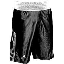 Adidas pantalones cortos de boxeo, hombre, color negro - negro, tamaño small