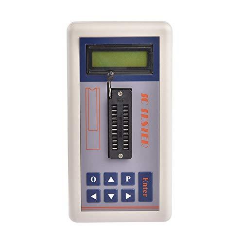Transistor Tester Detektor IC Suchmodusmesser Multifunktional Digital Maintenance Tool Integrierte Schaltkreise Online LED Display Tragbar Professional
