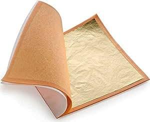 25 blatt blattgold designgold 14x 14 cm spielzeug for Blattgold basteln
