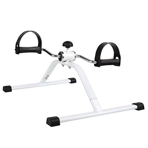 FEMOR Fitness Minifahrrad Beintrainer Trainiert Arm- , Beinmuskulatur & Ausdauer Vitaltrainer Trainingsgerät Bewegungstrainer Arm und Beine Pedaltrainer ,für zuhause/Büro
