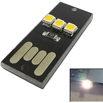 PB-Versand Lot de 2mini clés USB avec lampe à 3LED 0,2W 40lm