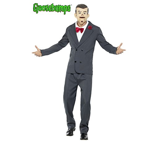 MENS GOOSEBUMPS SLAPPY THE DUMMY COSTUME - MEDIUM (Dummy Puppe Kostüm)