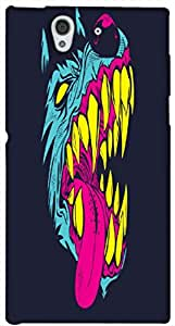 Timpax protective Armor Hard Bumper Back Case Cover. Multicolor printed on 3 Dimensional case with latest & finest graphic design art. Compatible with Sony L36H - Sony 36 Design No : TDZ-28026