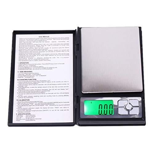 0.1/0.01 Gram Precision Jewelry Electronic Digital Balance Weight Pocket Scale 200g/500g