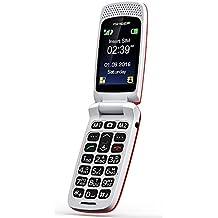 ISHEEP Telefono Cellulare per anziani Rosso