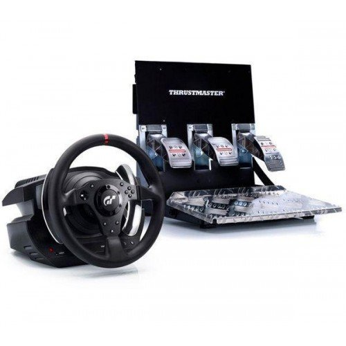 Offizielles Gran Turismo 5 - THRUSTMASTER T500RS [PS3 - PC] Lenkrad + Connect4S USB 2.0 4-port Hub
