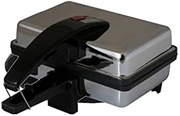 Starvin Silver Touch Sandwich Toaster || Steel Body || Non-Stick Teflon Coating || Griller || 1 Year Warranty || T-82