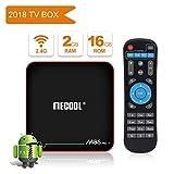 2018 Ultimo Modello MECOOL M8S PRO W Android 7.1.2 TV BOX con IR Telecomando, Migliore Android Interfaccia Utente, 2GB RAM/16GB ROM e UHD 4K Lettori Multimediali di Internet
