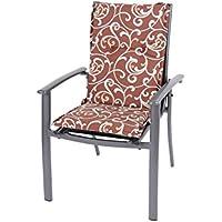 Dajar 49836 - Sillas y sillones malasia almohadilla, multicolor