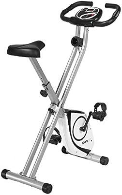 SportPlus Heimtrainer S-Bike - Bicicleta estática y de spinning para fitness