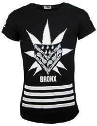T-Shirt - BRONX - schwarz