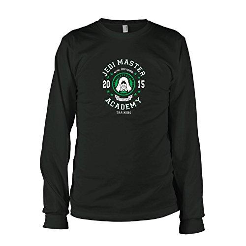 TEXLAB - Jedi Master Academy - Herren Langarm T-Shirt Schwarz