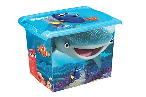 2x Caja para juguetes juguete caja Fashion Caja de Disney findet Dorie 20L