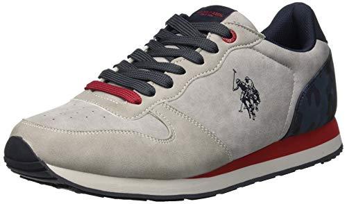 U.S. Polo Assn. SHERIDAN2 Club, Sneaker Uomo, Grigio usato  Spedito ovunque in Italia